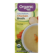 Great Value Chicken Broth, Low Sodium