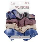 Ela Scrunchies, Assorted Colors