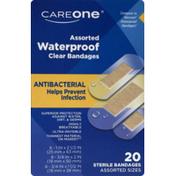 CareOne Assorted Antibacterial Waterproof Bandages