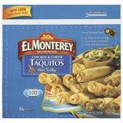 El Monterey Chicken & Cheese Flour Tortilla Taquitos
