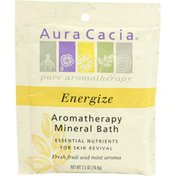 Aura Cacia Energize Mineral Bath