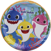 Unique Plates, Baby Shark, 8-5/8 Inch