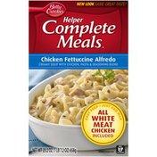 Betty Crocker Chicken Fettuccine Alfredo Helper Complete Meals