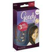 Goody Fancy Fishtail Kit, Blonde, 16 Pieces