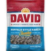 DAVID Seeds Jumbo Buffalo Style Ranch Sunflower Seeds