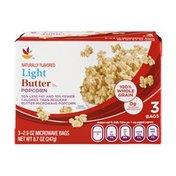 SB Light Butter Flavored Popcorn - 3 CT