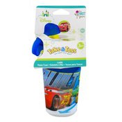 The First Years Disney Cars Take & Toss Sippy Cups - 3 CT