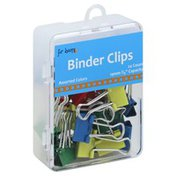 For Keeps Binder Clips, Assorted Colors