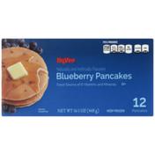 Hy-Vee Blueberry Pancakes