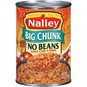 Nalley Big Chunk No Beans con Carne Chili