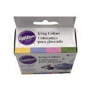 Wilton 4-Color Garden Tone Icing Colors Decorating Food Frosting Coloring
