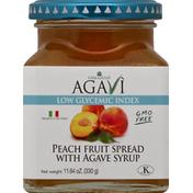 Casa Giulia Fruit Spread, Peach with Agave Syrup