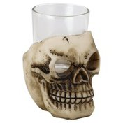 Gothic Collection Shot Glass, Skull