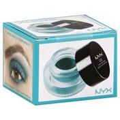 NYX Professional Makeup Liner & Smudger, Gel, Danielle Teal GLAS03