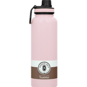 Haven & Key Tumbler, Stainless Steel, Blush, 40 Ounce
