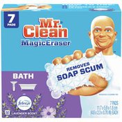 Mr. Clean Bath With Febreze Lavender Scent, Cleaning Pads With