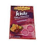 Emergen-C Kidz 250 Mg Vitamin C Fizzy Drink Mix - Fruit Punch