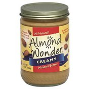 Almond Wonder Almond Butter, Creamy