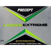 Precept Golf Balls, Laddie Extreme, Double Dozen