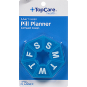 TopCare 7-Day 7-Sided Pill Planner