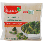 Brookshire's Broccoli in Cheese Sauce, Lightly Sauced