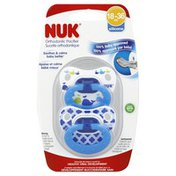 NUK Pacifier, Orthodontic, Silicone, 18-36 Months