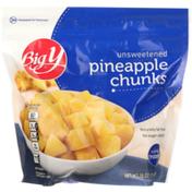 Big Y Unsweetened Pineapple Chunks