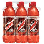 Mountain Dew Cherry Soda