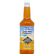 First Street Syrup, Mango