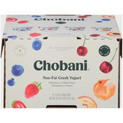 Chobani Blueberry/Black Cherry/Strawberry/Peach Non-Fat Greek Yogurt