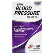 BPH Blood Pressure Health Dietary Supplement Caplets