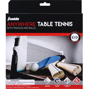Franklin Sports Table Tennis, Anywhere