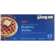 Hy-Vee Blueberry Waffles