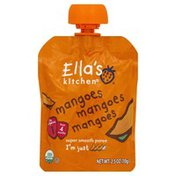 Ella's Kitchen Puree, Super Smooth, Mangoes, Mangoes, Mangoes, 1 (from 4 Months)