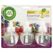Air Wick Scented Oil Refills, Wild Berries Fragrance