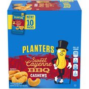 Planters Sweet Cayenne BBQ Cashew Packets