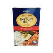 Meijer Long Grain Instant White Rice