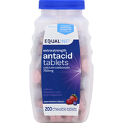 Equaline Antacid, Calcium Carbonate 750 mg, Extra Strength, Assorted Berry Flavors, Chewable Tablets