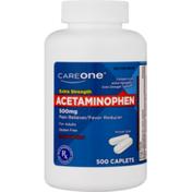 CareOne Acetaminophen 500 mg Caplets