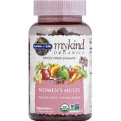 Garden of Life Women's Multi, Vegan Gummy Drops, Organic Berry