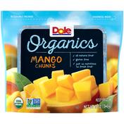 Dole Organics Mango Chunks