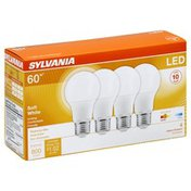 SYLVANIA Light Bulbs, LED, Soft White, 8.5 Watts