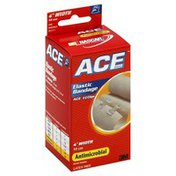 Ace Elastic Bandage, Antimicrobial, 4 Inch Width