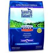 Natural Balance Dog Food, Ultra Premium, Chicken, Brown Rice, Duck Meal Formula, Large Breed Bites