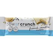 Power Crunch Protein Energy Bar, French Vanilla Creme