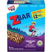 CLIF Kid Chocolate Chip Baked Whole Grain Energy Snack Bars