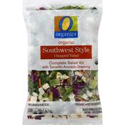 O Organics Salad Kit, Southwest Style, Organic, Chopped