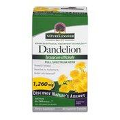 Nature's Answer Dandelion Supplement - 90 CT