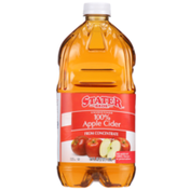 Stater Bros 100% Unsweetened Apple Cider From Concentrate