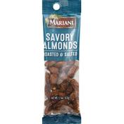 Mariani Almonds, Savory, Roasted & Salted